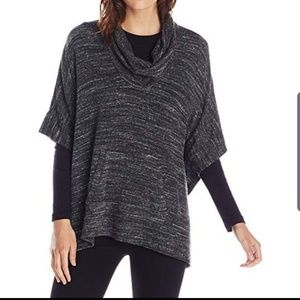 Splendid Drape Cowl Neck Pull Pop Over Sweater